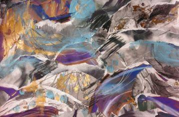 [Artist page] Blue Sea (collage)